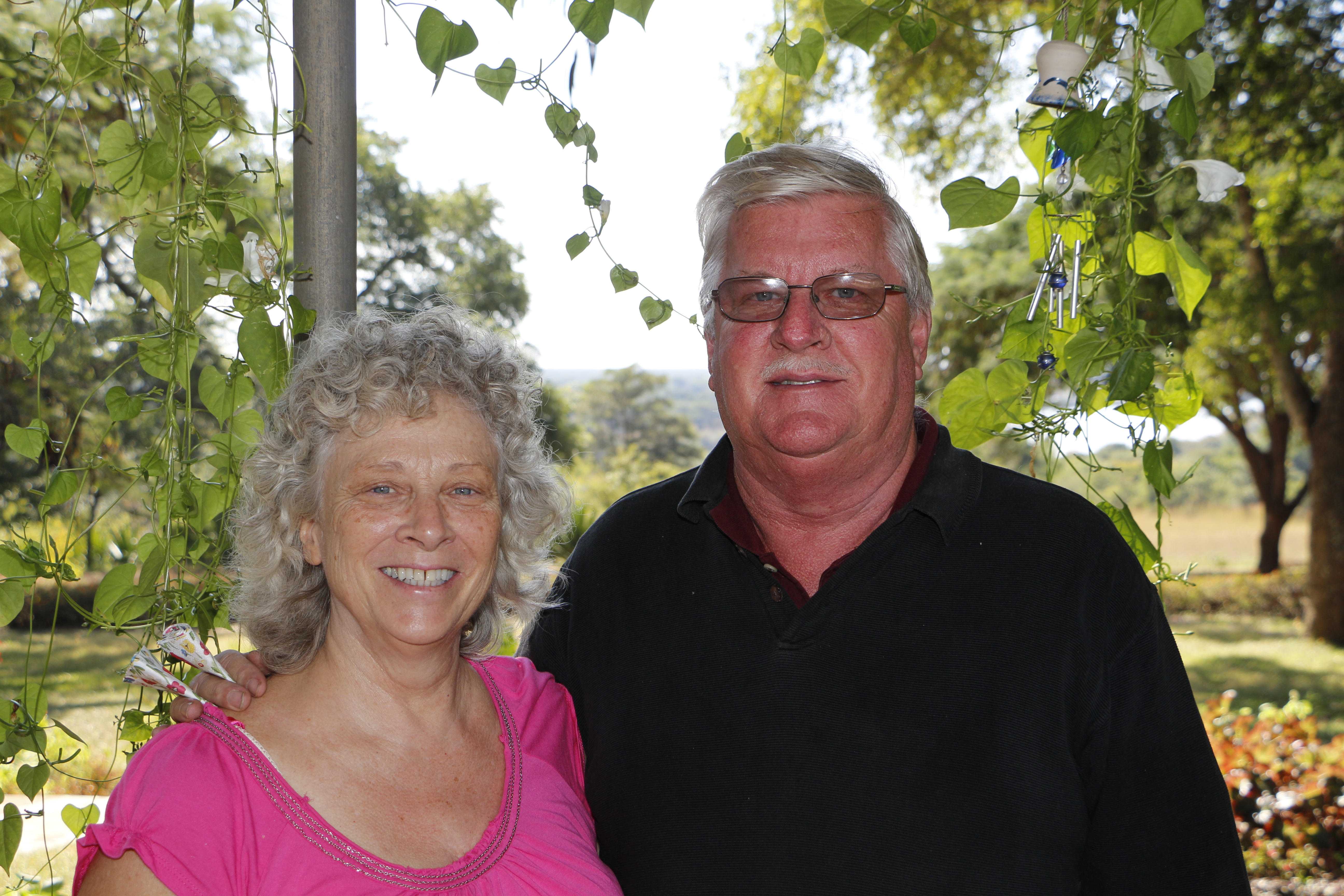 Gordon and Ruth Hanna